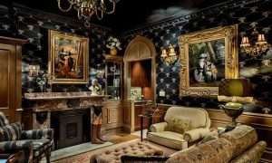 Victorian Flair Living Room